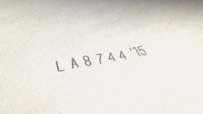 Alpha-Numeric Band Stamps