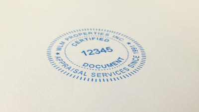 Seal Stamps with your Text