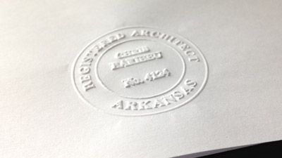 Architect Seal Embossers