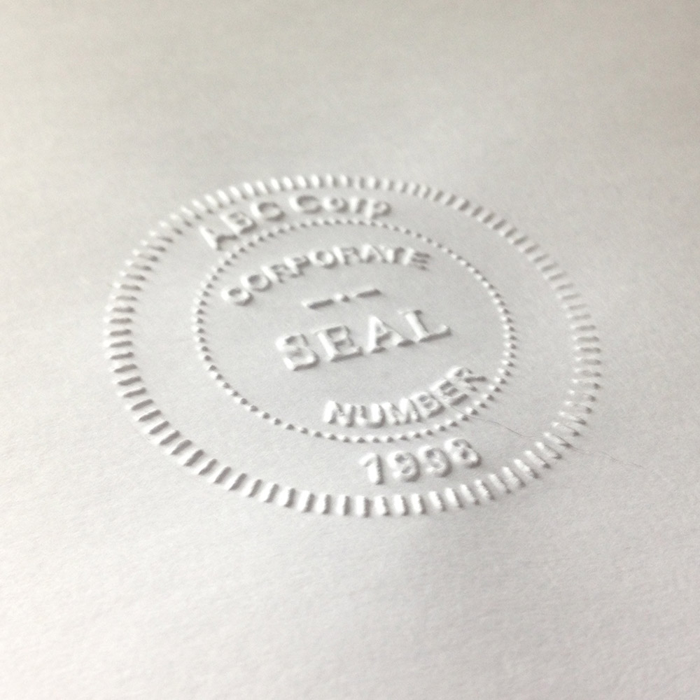 Corporate Seals | Corporate Seal Embossers - theStampmaker com