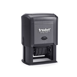 Trodat Printy 4727 2 Color Self Inking Dater