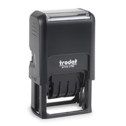 Trodat Printy 4750 2 Color Self Inking Dater