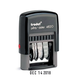 Trodat Printy 4820 Self Inking Date Stamp