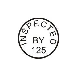 Inspection Stamp In1 Thestampmaker Com