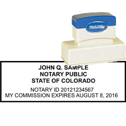Notary Stamp - ML185 Pre-Ink Stamp - Colorado