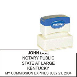Notary Stamp - ML185 Pre-Ink Stamp - Kentucky