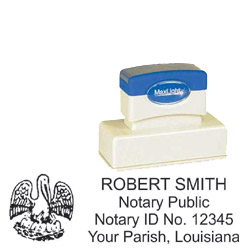 Notary Stamp - ML185 Pre-Ink Stamp - Louisiana