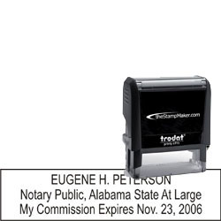 Notary Stamp - Trodat 4915 - Alabama