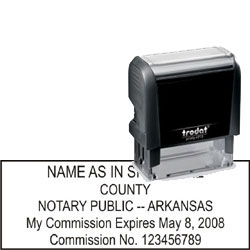 Notary Stamp - Trodat 4913 - Arkansas