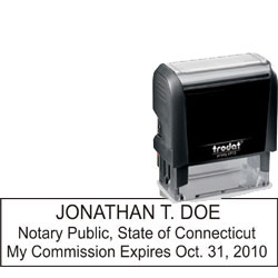 Notary Stamp - Trodat 4913 - Connecticut