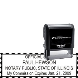 Notary Stamp - Trodat 4915 - Illinois