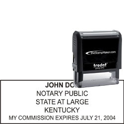 Notary Stamp - Trodat 4915 - Kentucky
