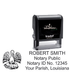 Notary Stamp - Trodat 4915 - Louisiana