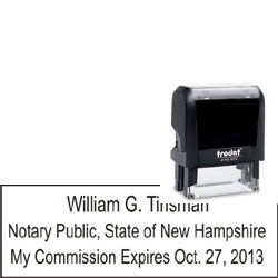 Notary Stamp - Trodat 4912 - New Hampshire