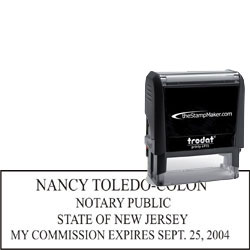 Notary Stamp - Trodat 4915 - New Jersey