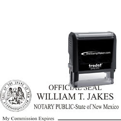 Notary Stamp - Trodat 4915 - New Mexico