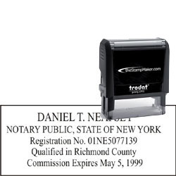 Notary Stamp - Trodat 4915 - New York