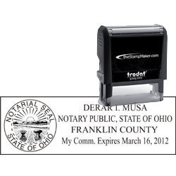 Notary Stamp - Trodat 4915 - Ohio