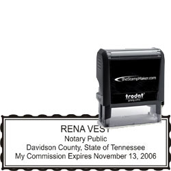 Notary Stamp - Trodat 4915 - Tennessee