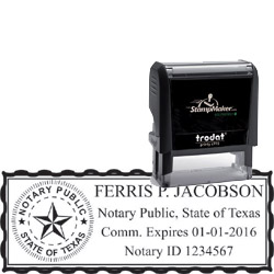 Notary Stamp - Trodat 4915 - Texas