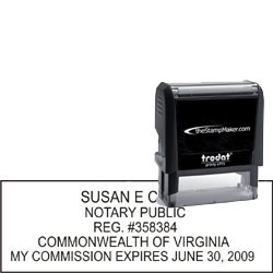 Notary Stamp - Trodat 4915 - Virginia