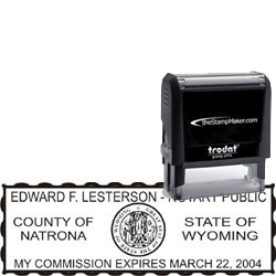 Notary Stamp - Trodat 4915 - Wyoming