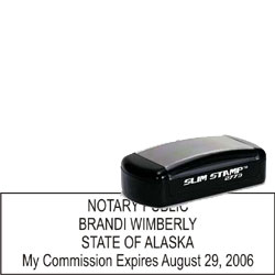 Notary Pocket Stamp 2773 - Alaska