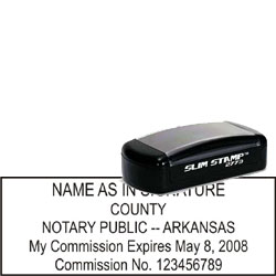 Notary Pocket Stamp 2773 - Arkansas
