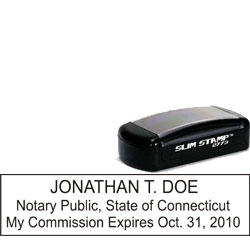 Notary Pocket Stamp 2773 - Connecticut