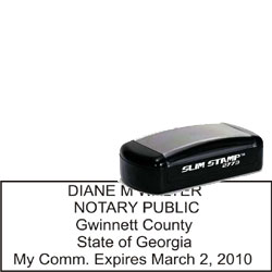 Notary Pocket Stamp 2773 - Georgia