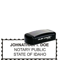 Notary Pocket Stamp 2773 - Idaho