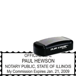 Notary Pocket Stamp 2773 - Illinois
