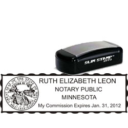 Notary Pocket Stamp 2773 - Minnesota