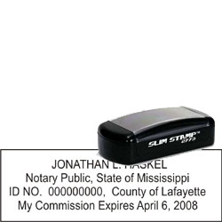 Notary Pocket Stamp 2773 - Mississippi