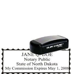 Notary Pocket Stamp 2773 - North Dakota