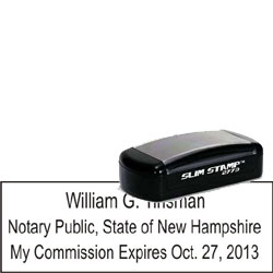 Notary Pocket Stamp 2773 - New Hampshire