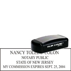 Notary Pocket Stamp 2773 - New Jersey
