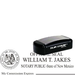 Notary Pocket Stamp 2773 - New Mexico