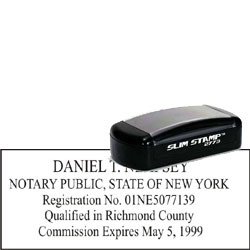 Notary Pocket Stamp 2773 - New York