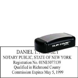 Notary Pocket Stamp 2773 New York