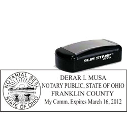 Notary Pocket Stamp 2773 - Ohio
