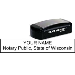 Notary Pocket Stamp 2773 - Wisconsin