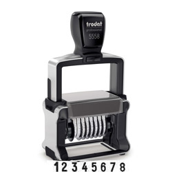 Trodat Professional 5558 Number Stamp