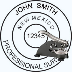 Land Surveyor Seal - Desk - New Mexico
