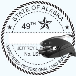 Land Surveyor Seal - Pocket - Alaska