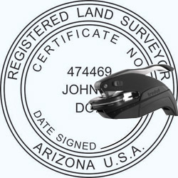 Land Surveyor Seal - Pocket - Arizona