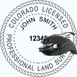 Land Surveyor Seal - Pocket - Colorado