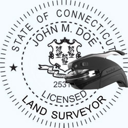 Land Surveyor Seal - Pocket - Connecticut