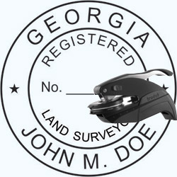 Land Surveyor Seal - Pocket - Georgia