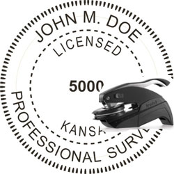 Land Surveyor Seal - Pocket - Kansas